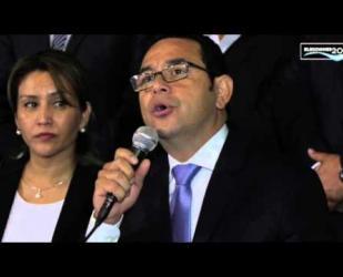 Conferencia de prensa Jimmy Morales