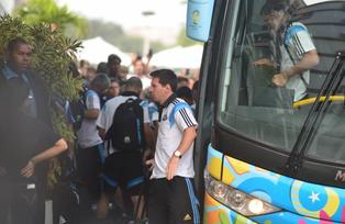 Llegada de Argentina a Brasil