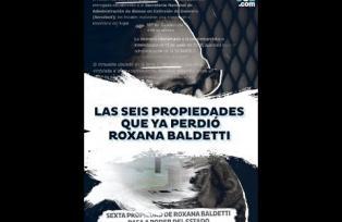 Las seis propiedades que ya perdió Roxana Baldetti