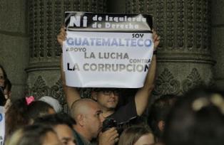 El curioso mensaje de los manifestantes a la PNC