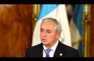 Conferencia Otto Pérez Molina