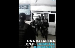 Detalles del ataque armado en el Hospital Roosevelt