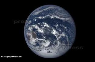 Así se ve la Tierra a 1,4 millones de kilómetros, a finales de 2016
