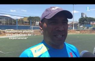 Juan Carlos Plata y su primer día como entrenador