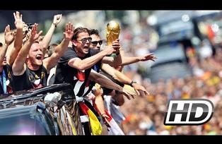 Festejo de la Seleccion de Alemania en Berlin 15 Julio 2014 Campeon del Mundo