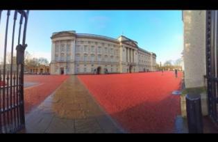 Paseo virtual por el Palacio de Buckingham