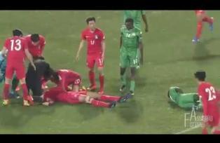 Jugador coreano evitó muerte de su amigo en pleno partido con respiración boca a boca