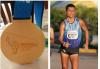 Así festeja Erick Barrondo la medalla de oro que le hacía falta