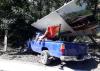 Accidente en la cuesta de Villa Lobos complica tráfico hacia el sur
