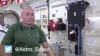 """Astronautas juegan y se divierten con un """"spinner"""" en gravedad cero"""