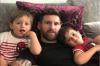 Hijos de Messi se convierten en meme por una publicación en Instagram