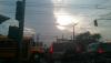 Corte de energía eléctrica provoca complicaciones de tránsito