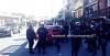 Delincuentes atropellan a policías en persecución en la zona 6