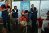 Drago, el perro rescatista, encabeza campaña contra la rabia
