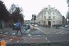 Valientes peatones ayudan a la Policía a detener a un ciclista armado