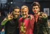 Gianluca Vacchi estrena videoclip con Dani Alves y James Rodríguez
