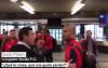 Afición del Sevilla encara a jugadores y casi llegan a los golpes