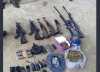 Localizan helicóptero y un arsenal en allanamiento contra secuestros