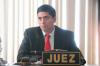 Juez Mynor Moto presenta informe para desmentir retardo en audiencias