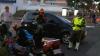 Fuerte accidente en la Avenida Reforma deja un motorista herido