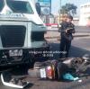 Camión blindado atropella a motorista en la avenida Petapa