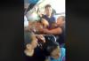 """""""La loca de los buses"""": denuncian a mujer que agrede a pasajeros"""