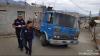 Albañiles impiden el paso a ambulancia en Sumpango, Sacatepéquez