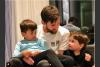 Los hijos de Messi bailan al ritmo de Michael Jackson