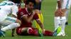 Sergio Ramos lesiona a Mohamed Salah y sale llorando del partido