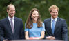 Esto pretende Kate Middleton para reconciliar a William y Harry